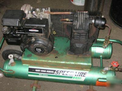 Air Compressor Wheelbarrow Gas Motor