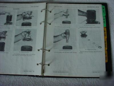 John deere 90 skid-steer loader tech. repair manual