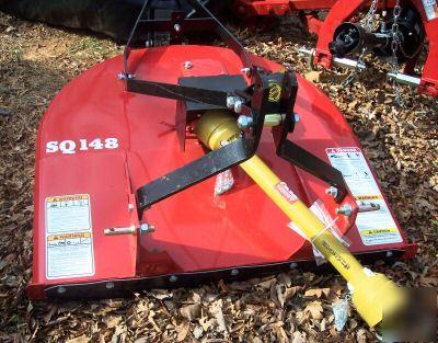 New Bush Hog Sq148 4 Squealer Rotary Mower 4 Tractors