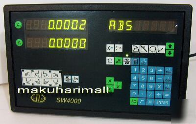 3-in-1 SW4000-2 digital readout +scales 50