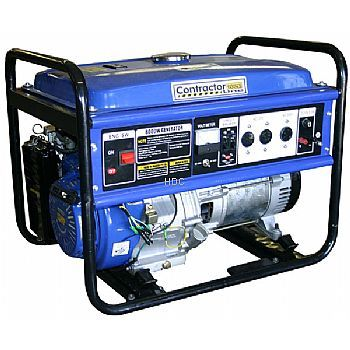 Contractor line 13 hp 8000 watt gas generator 03213