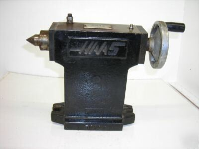 Haas tailstock for cnc 4TH axis rotary table indexer