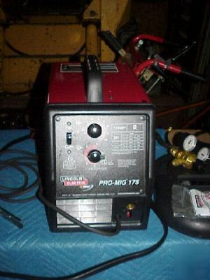 Lincoln Welders For Sale >> Lincoln pro mig 175 welder