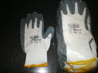 Ansell G Tek Maxifoam 34 800 Gloves 12 Pair Size Xl