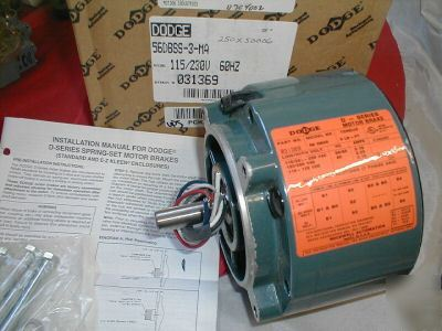 Dodge 031369 56dbss 3 Ma D Series Motor Brake 115 230v