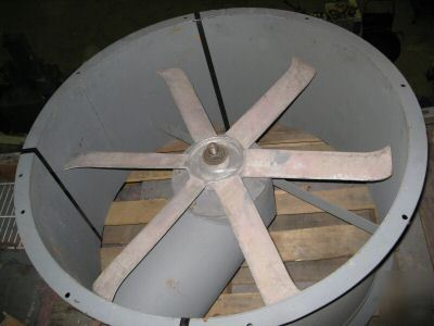 34 Tube Axial Tubeaxial Spray Paint Booth Exhaust Fan