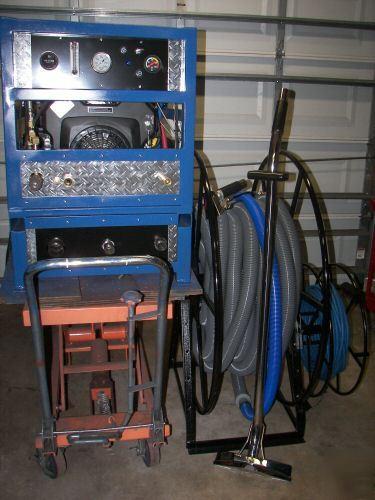 Truck Mount Carpet Amp Tile Cleaning Machine