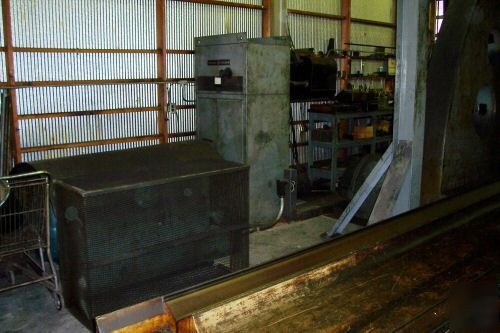 Gray planer machine with double housing and 16' table