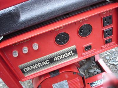 Generac 4000xl Portable Gas Powered Generator